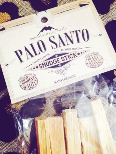 The Scented Home: Palo Santo Smudge Sticks, Pretty Young Green